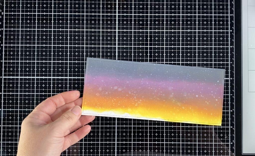 LE MEMORIA SLIMLINE SLIDER CARD